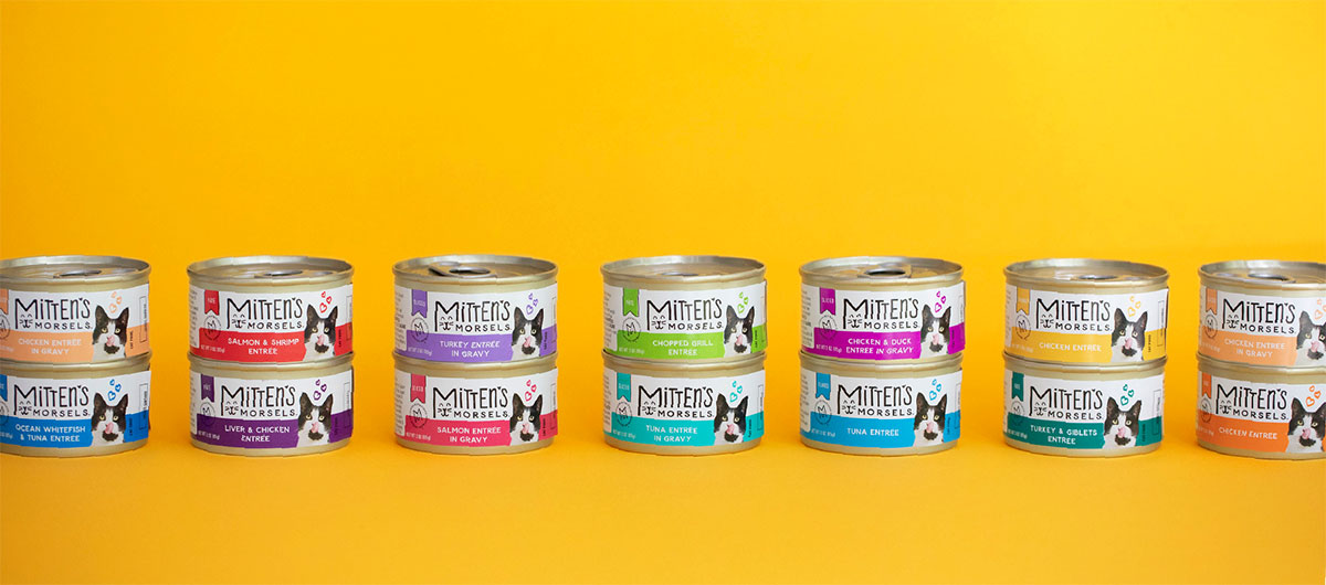 Mittens Morsels cat food